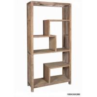 Βιβλιοθήκη ξύλινη μασίφ Βιβλιοθηκες Κλασικες